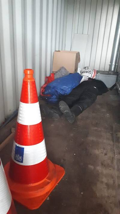 Angstaanjagende vondst in container langs de A12