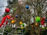 Snollebollekes in de paaseierboom; hier wordt heel Hedel vrolijk van