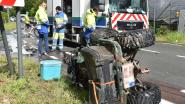 Chauffeur van quad zwaargewond na frontale klap in Petegem
