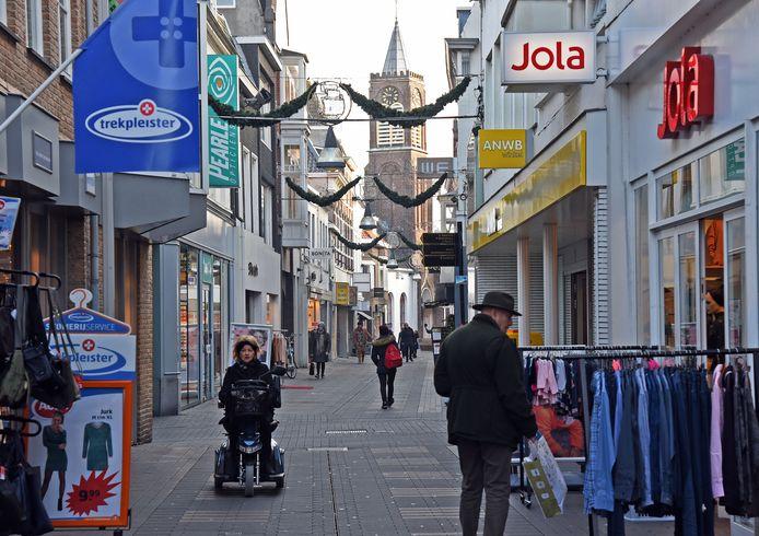 De Noordstraat in Terneuzen.