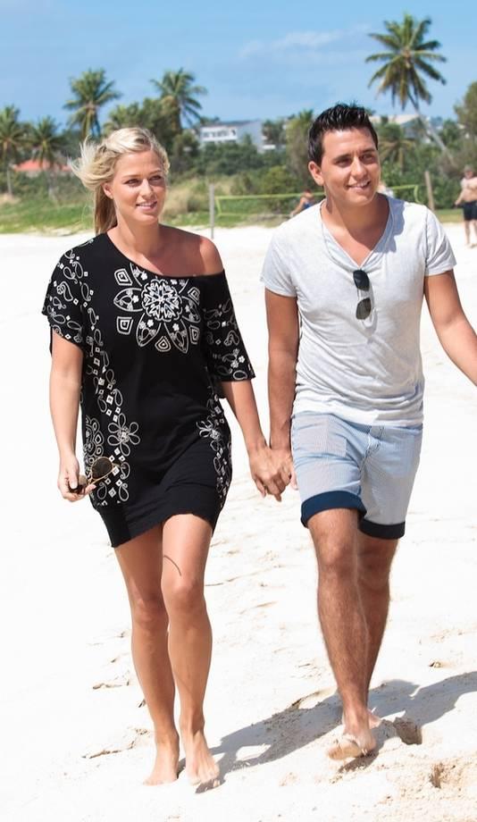 Jan Smit en Liza op Sint-Maarten getrouwd | Sterren | AD.nl