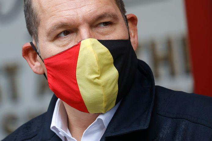 Philippe Close, bourgmestre de Bruxelles.