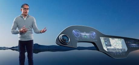 Mercedes verlegt de grens met reusachtig beeldscherm in nieuw elektrisch topmodel