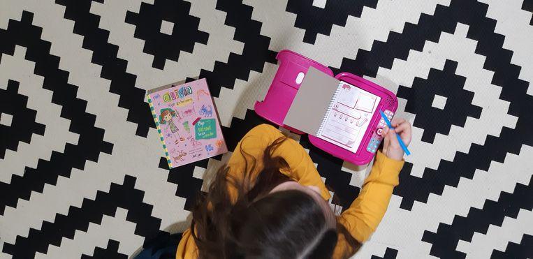 Blogster Sofie liet haar 8-jarige dochter de Kidi Secrets Notebook van VTech testen