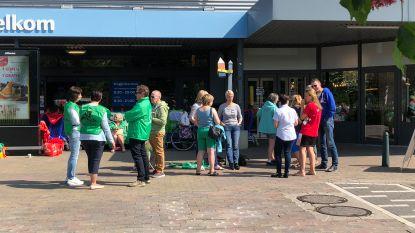 Zeventien hypermarkten Carrefour dicht door staking