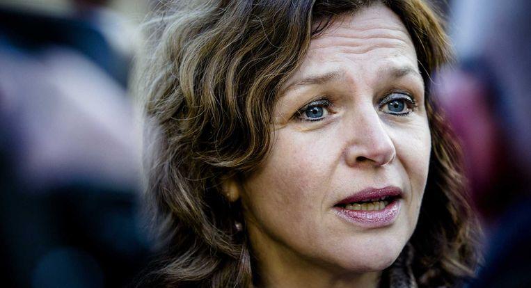 Minister Schippers van Volksgezondheid presenteerde vorige week een nieuw zorgplan als alternatief voor haar in december gestrande zorgwet. Beeld anp