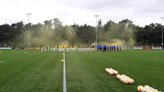 De opkomst bij de eerste training van Vitesse van vorig jaar
