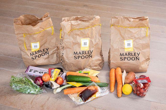 Maaltijdbox van Marley Spoon.