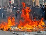 Israëlische politie moet waterkanon inzetten na nieuw protest orthodoxe joden