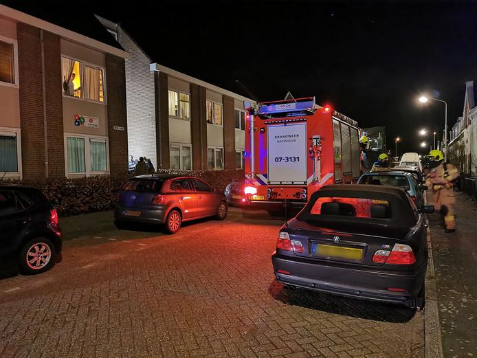 Magnetron in brand in Wageningen.