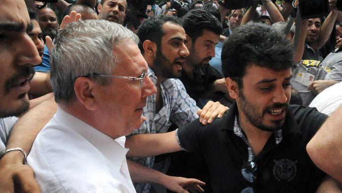 Fenerbahce-voorzitter Aziz Yildirim is een van de hoofdrolspelers van het omkoopschandaal in de Turkse liga.