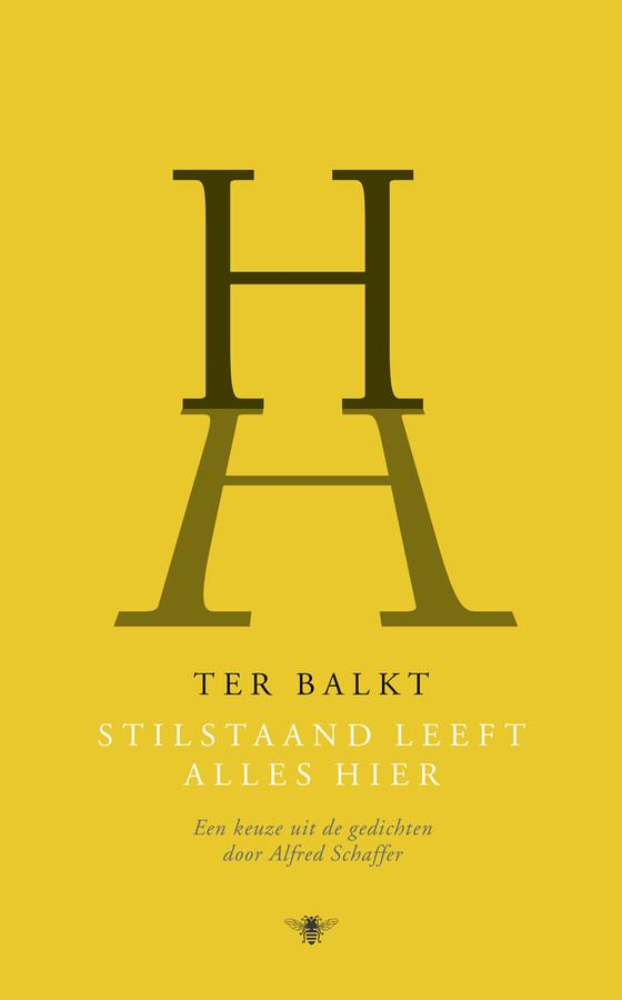 Cover van het boek Stilstaand Leeft Alles Hier van Ter Balkt. Voor geboekt