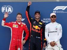 Ricciardo verzacht pijn Red Bull met poleposition in Monaco