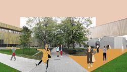 Campus Drie Eiken krijgt make-over tegen academiejaar 2022-2023: nieuwe sporthal, studentenkoten en restaurant