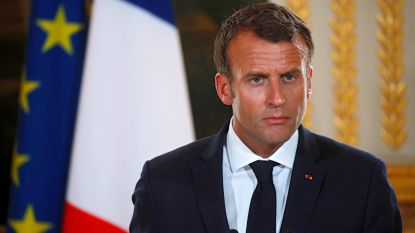 Macron verdedigt persvrijheid nadat Erdogan-kritische cover uit kiosken wordt gehaald