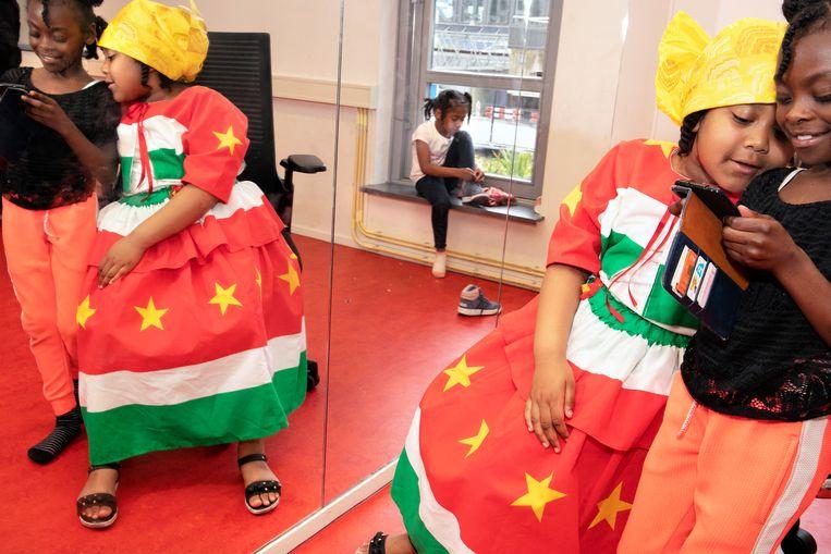 Surinaams feest Keti Koti. Beeld Martijn van de Griendt