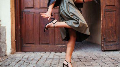 Terug van weggeweest: haute couture gaat weer voor hoge hak