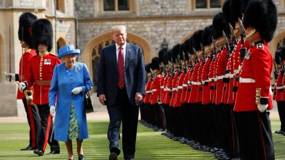 Massale protesten verwacht tijdens eerste staatsbezoek van Trump aan Verenigd Koninkrijk