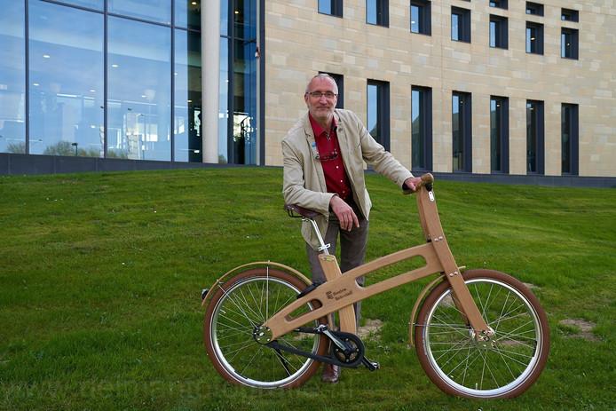 André Botermans, fietsambassadeur van Houten.