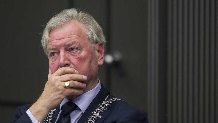 Burgemeester Henk van Beers. Beeld anp