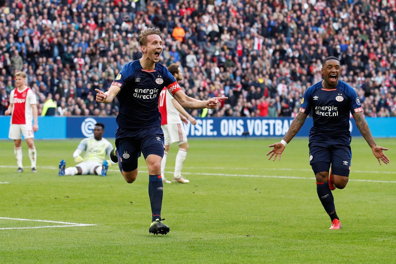 Luuk de Jong en Steven Bergwijn, binnenkort een aanvalsduo bij Sevilla?