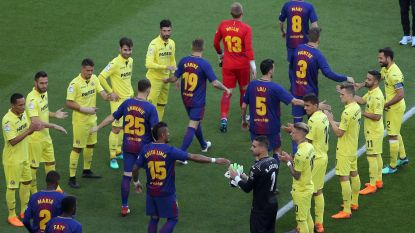 Barça pakt uit met gala-avond in Camp Nou: gekruid met splijtende passes Iniesta, lof voor Vermaelen en glansprestatie van jonge snaak