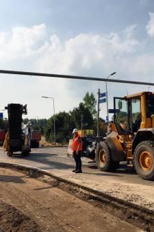 Verkeershinder bij knooppunt Vught duurt langer door herstelwerkzaamheden