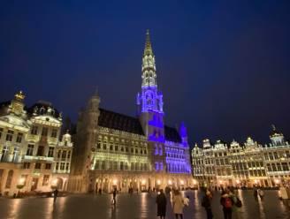 Brussel kleurt blauw voor verjaardag Verenigde Naties