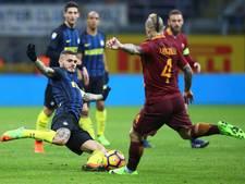 Roma dankzij Nainggolan langs Inter