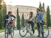 Rome is er (nog) niet op gebouwd, maar ineens willen alle Italianen fietsen