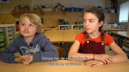 VIDEO. Wat weten kinderen over de Internationale Vrouwendag?