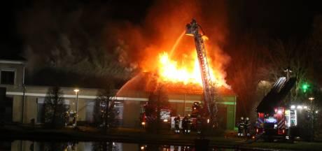 Grote brand bij jeugdinstelling De La Salle in Boxtel
