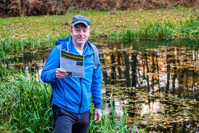 Tom Langen uit Groesbeek heeft tal van wandelroutes gemaakt in de Gemeente Berg & Dal.