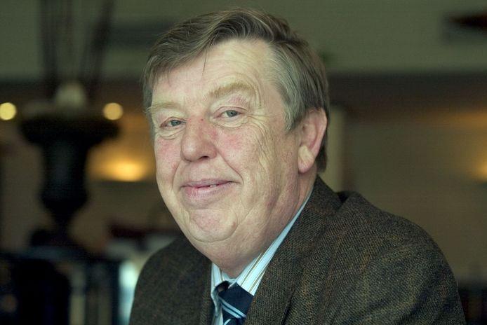 Thieu Brabers in 2006 toen hij de Deurnese gemeenteraad na 32 jaar verliet.