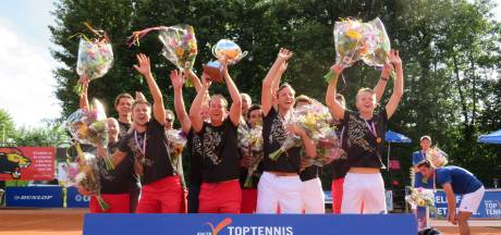 Historisch kampioenschap voor tennissers Lewabo