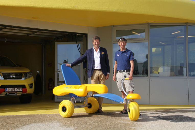 Nieuwe strandjutter Knokke
