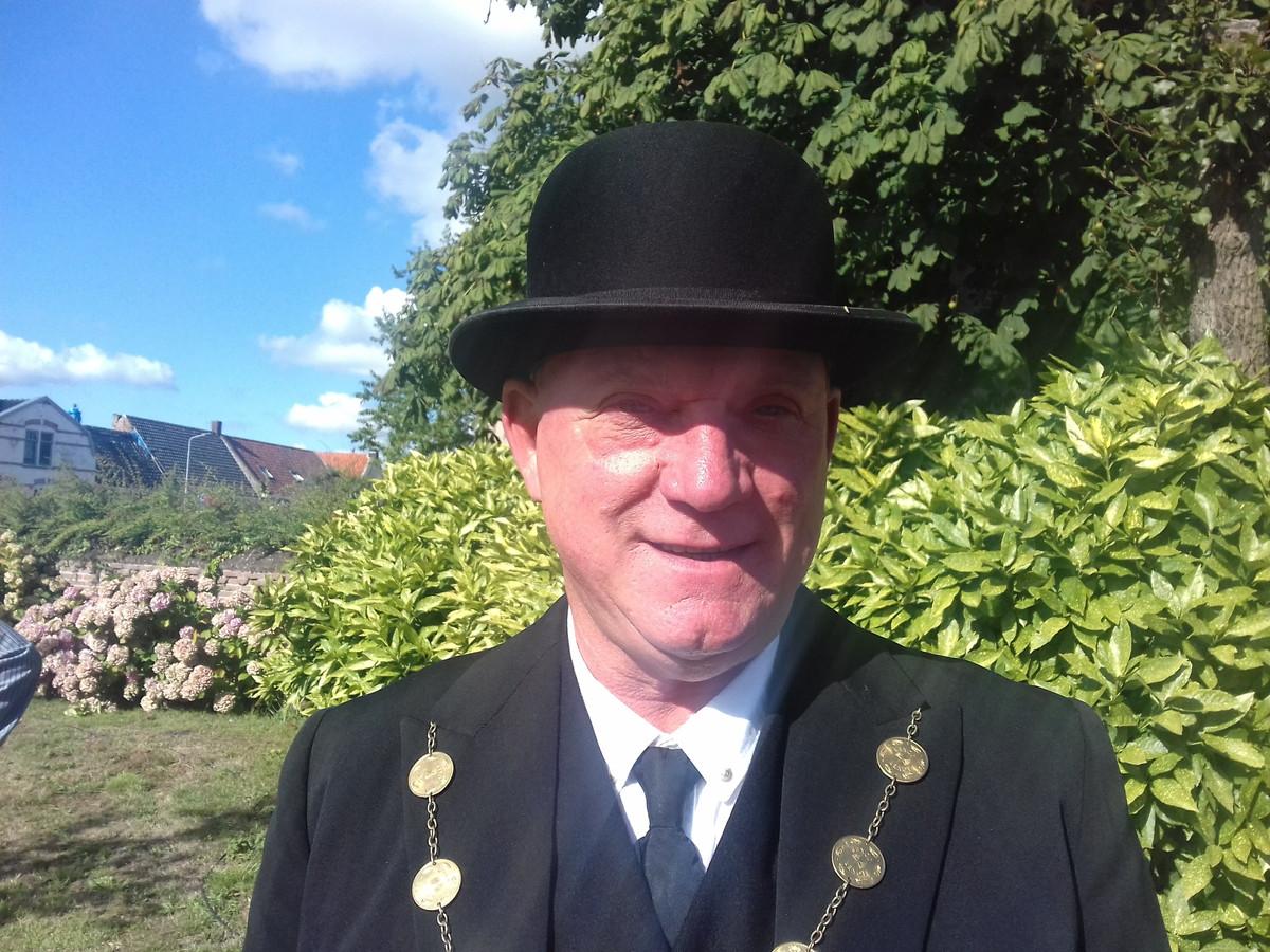 Ben Meddeler neemt na 18 jaar afscheid als voorzitter van de Burghse Dag.