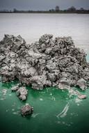 Granuliet bij zandwinningsgebied Over de Maas