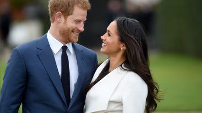 Van minuut tot minuut: zo verloopt het huwelijk van het jaar tussen prins Harry en Meghan Markle