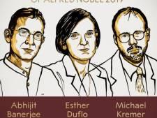 """Le Nobel d'économie attribué à un trio """"pour son approche visant à réduire la pauvreté"""""""