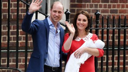 """Pasgeboren prinsje van Kate en William heet Albert"""