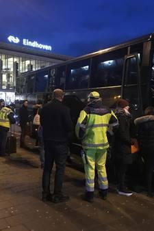 Treinproblemen van Eindhoven naar zuiden door schade aan bovenleiding in Geldrop opgelost