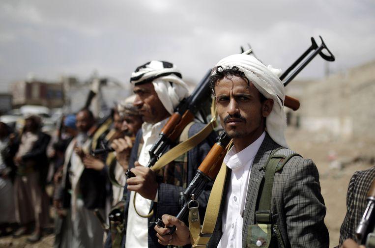Houthi-rebellen in Jemen.
