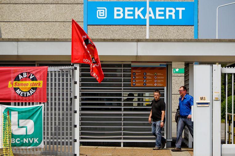 Bij staalfabrikant Bekaert kwamen 281 jobs op de tocht te staan.