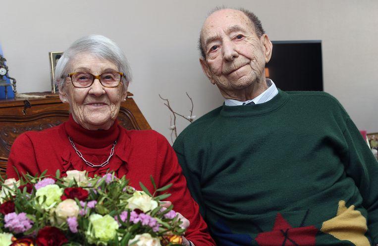 Angèle Vangeel en Stan Kempen zijn 65 jaar getrouwd.