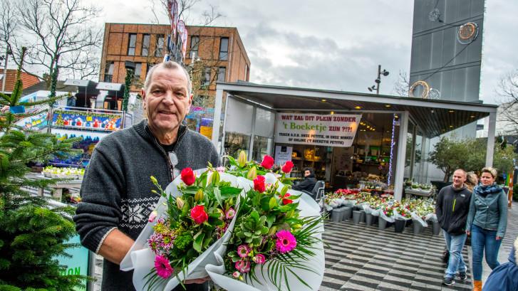 Boeketje blijft nog jaren op Pieter Vreedeplein: 'Supergoed nieuws'
