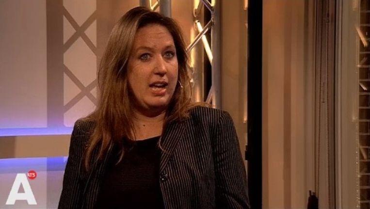 Marjolein Moorman (PvdA) was gisteravond te gast bij Park Politiek, het politieke programma van Het Parool en AT5. Beeld Screenshot AT5