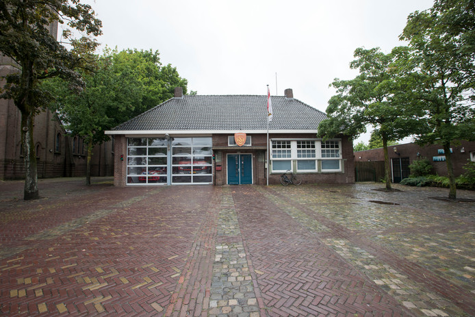 De brandweerkazerne in Middelbeers.