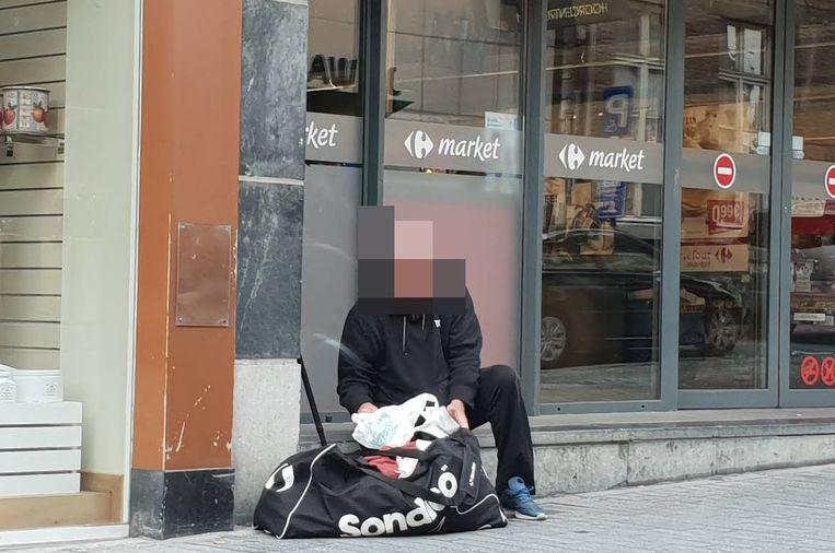 Dakloze man deze zomer in Truiense Stapelstraat