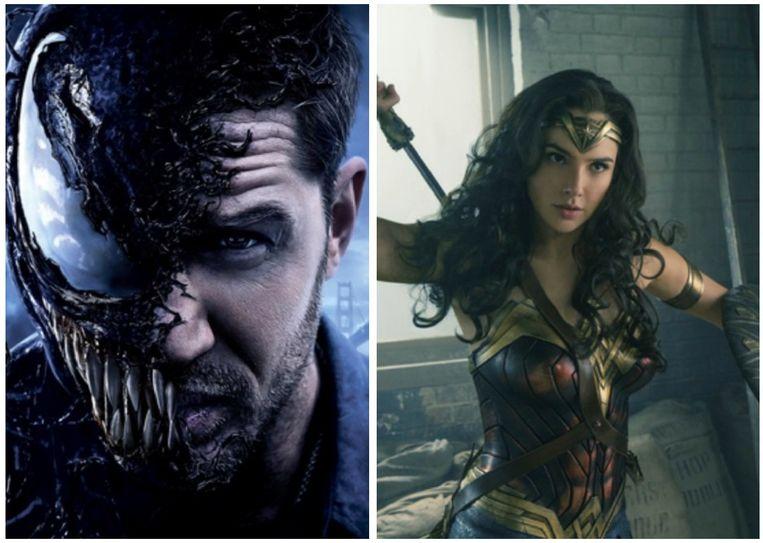 'Venom' scoort beter dan 'Wonder Woman'.